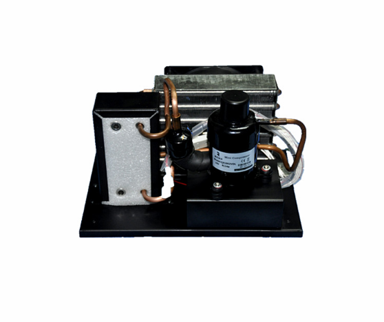 Custom Miniature Liquid Water Chiller with 12V Compressor for Micro Refrigeration Cycle System