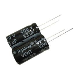 33UF 400V Aluminum Electrolytic Capacitor 2000hrs
