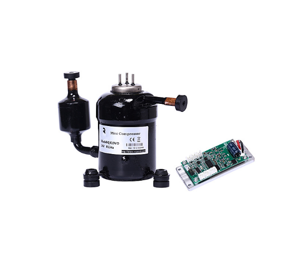 12V 24V 48V DC Small Compressor for Medical Cooling Machine and Other Small Liquid Refrigerantion System