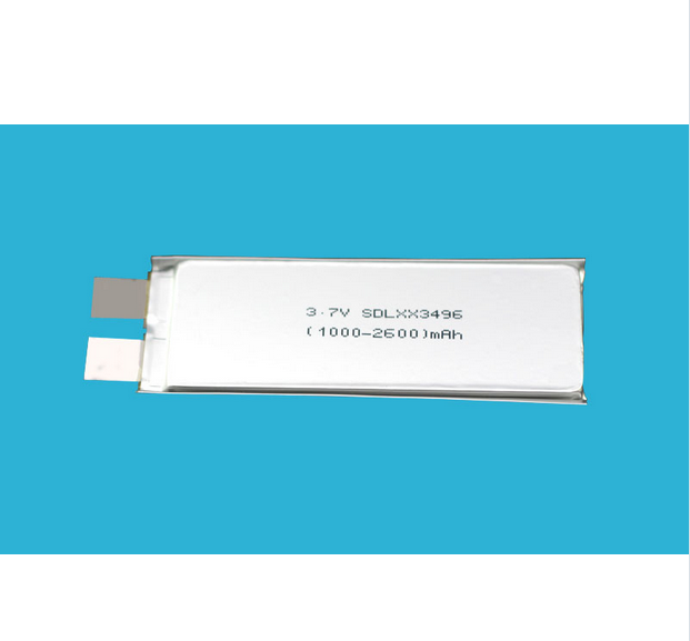 2200mAh 3.7V 1c Lithium Polymer Battery for Consumer Electronics