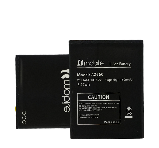 Original Lithium Lon Battery Rechargeable Battery for B-Mobile Ax650