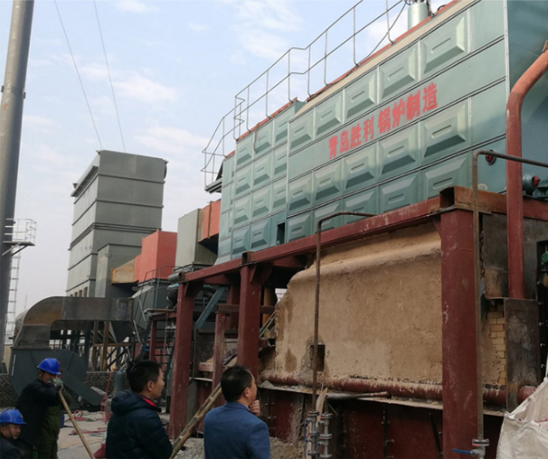 Industrial SZL 8-1.0MPa Double-Drum Horizontal Coal Fired Steam Boiler