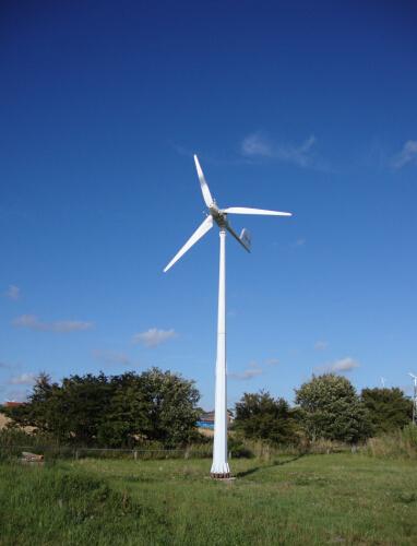 5kw Wind Turbine on Grid System Completely Plan