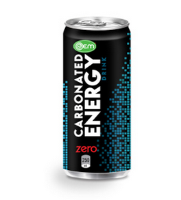 250ml Canned OEM Carbonated Energy Drink