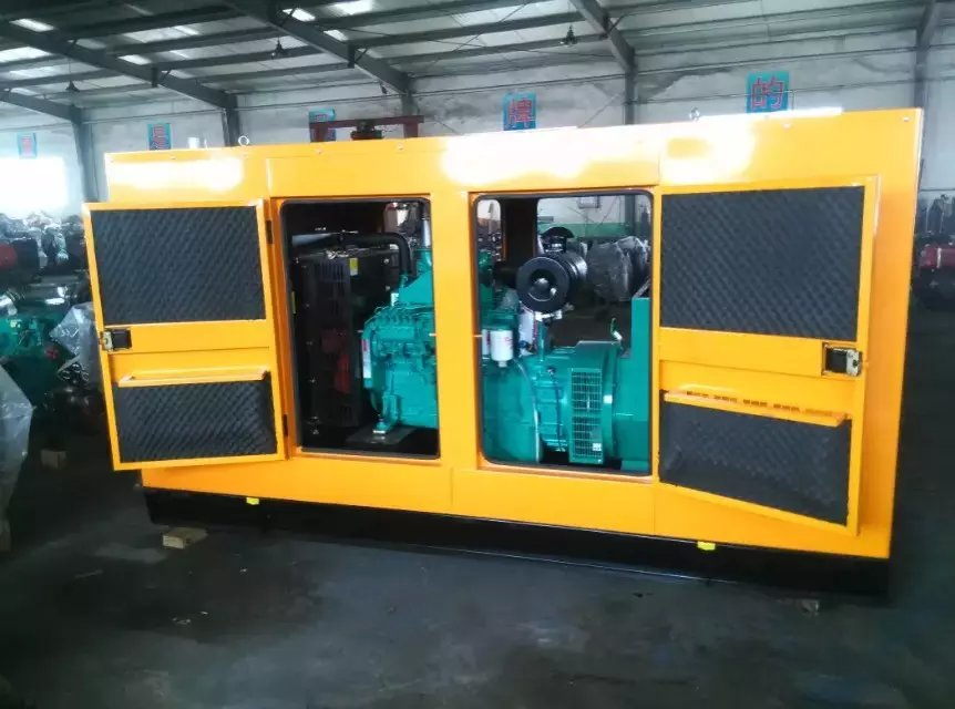 Weichai 75kw quiet diesel generator set low noise power, other power generation units are complete