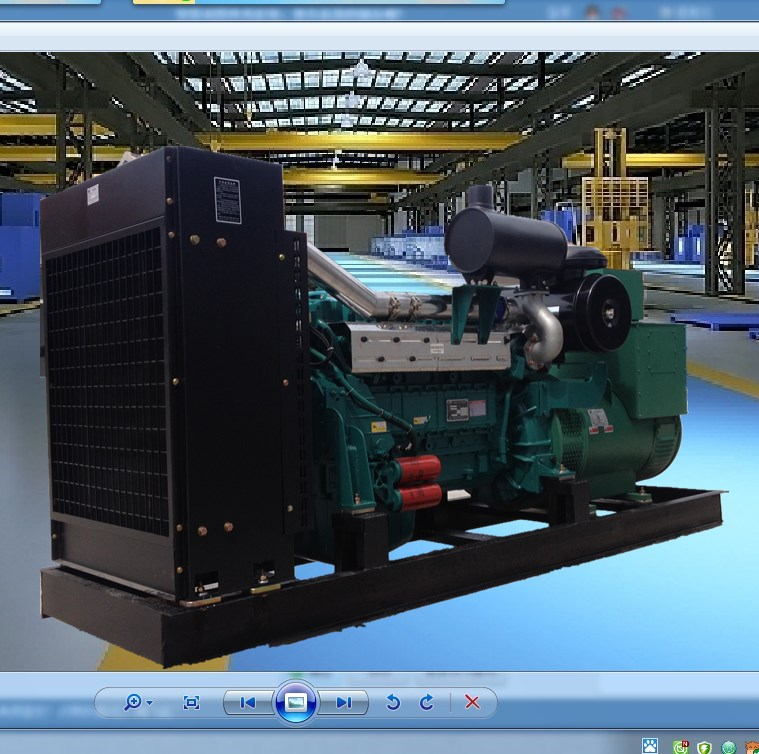 200 mute mobile full automatic diesel generating set, low power noise, easy to move, self - switching, perfect set
