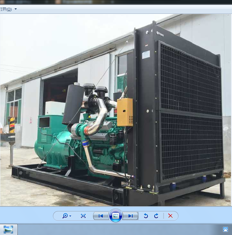 Provide the original factory Weichai 400 diesel generating set, full power, low price, quality assurance
