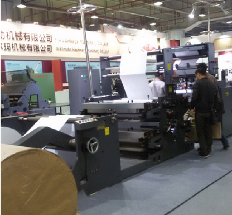 Exercise Book Making Line for Hot Glue Binding Way