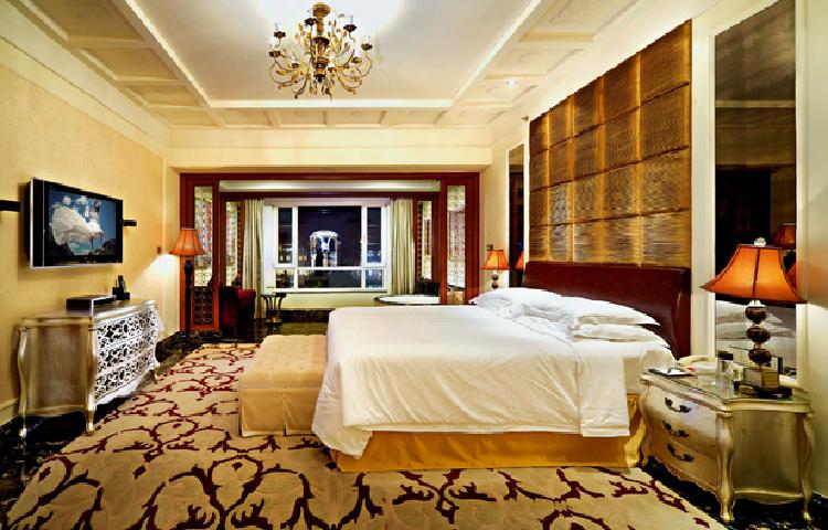 Luxury Suite Series/Luxury Star Hotel President Bedroom Furniture Sets/Standard King Single Room Furniture/Modern Classic Single Room Furniture (GL-1000)