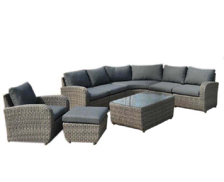 Patio Sectional Sofa Set Rattan Garden Wicker Outdoor Furniture