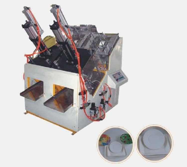 Disposable Paper Plate Forming Machine (GSZP-D)