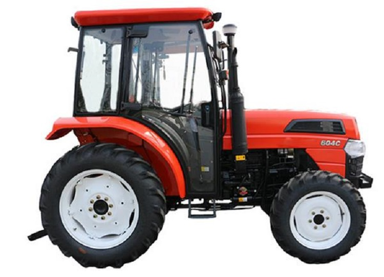 Economic Four Wheels Tractor with Pilothouse Hh604c