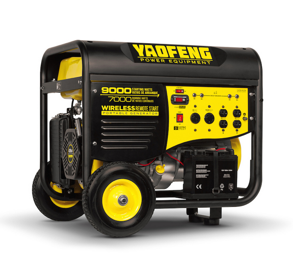 5000 Watts Portable Power Gasoline Generator with EPA, Carb, CE, Soncap Certificate (YFGP7500E2)