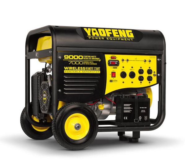 5000 Watts Portable Power Gasoline Generator with EPA, Carb, CE, Soncap Certificate (YFGP7500E2)