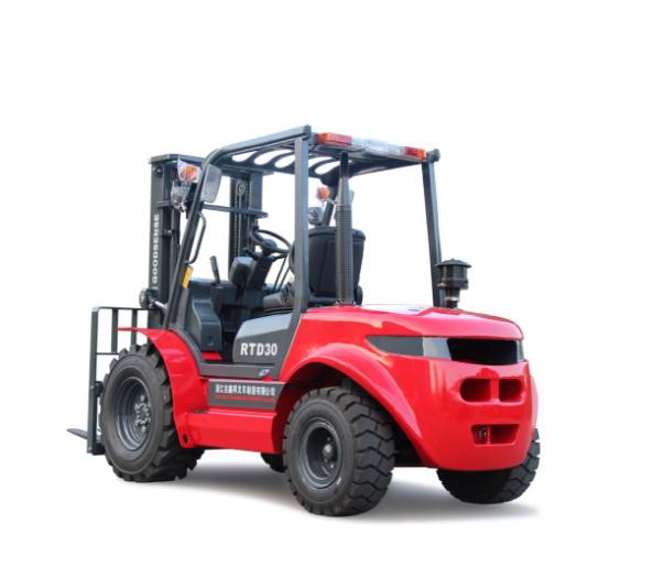 3.0t Rough Terrain Forklift Truck