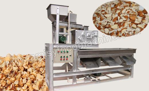 Peanut & Almond Kernel Chopping Machine