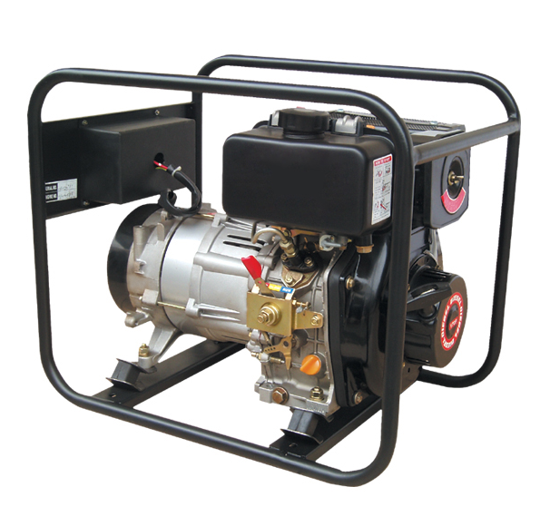 2 Kw Portable Diesel Generator Set (DG2500E)