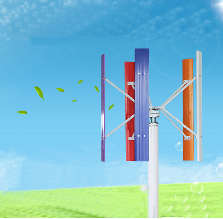 Windmill Wind Turbine 800W 48V for Home Rooftop Use
