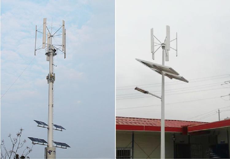 200W Home Use Small Vertical Wind Turbine, Low Rmp Generator