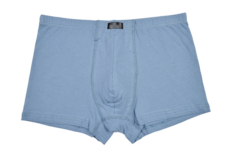 100% Cotton Underwear Boxer Brief Men