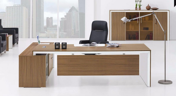China Modern MDF Laminated Wooden Executive Office Furniture (HX-NT3259)