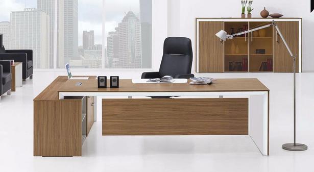 China Modern MDF Laminated Wooden Executive Office Furniture (HX-NT3259)