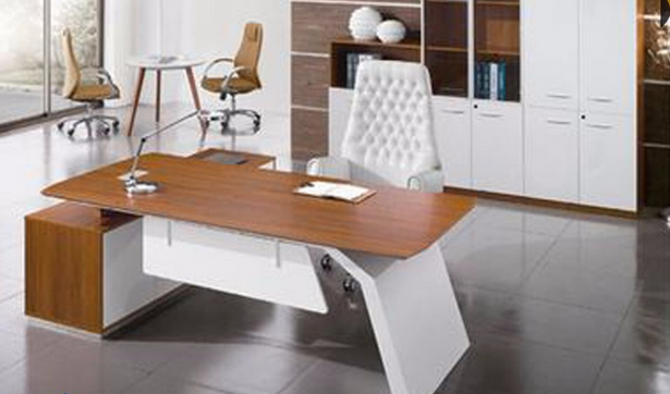 Chinese Stock Lots Discounted Cheap Modern MDF Office Furniture (NS-NW1705)