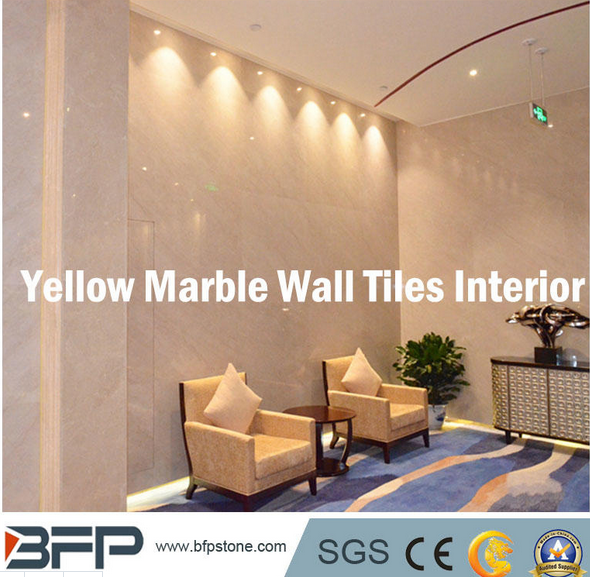 Natural Marble Wall Tile/Cladding for Lobby/Living Room/Bath Room