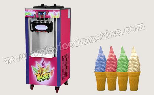 Vertical Soft Ice Cream Machine