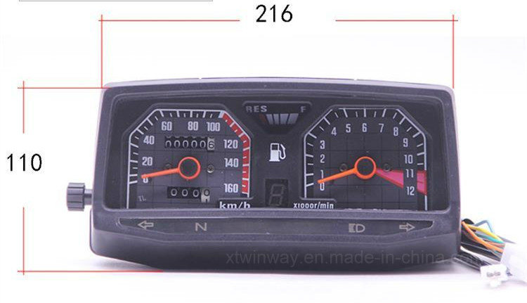 Ww-7206 Wy125 Motorcycle ABS Instrument, Motor Speedometer, - buying leads