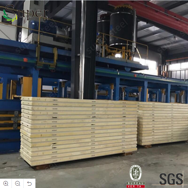 Cold Room Polyurethane PU Sandwich Panel for Food Storage