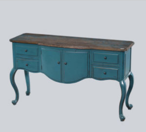 Delicately Wooden Cabinet Antique Furniture with Drawers