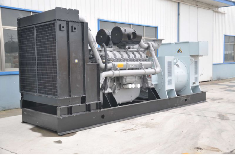 Diesel Genset with Perkins Engines