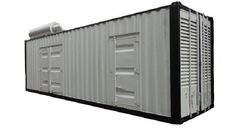 Container Type by Cummins Generator