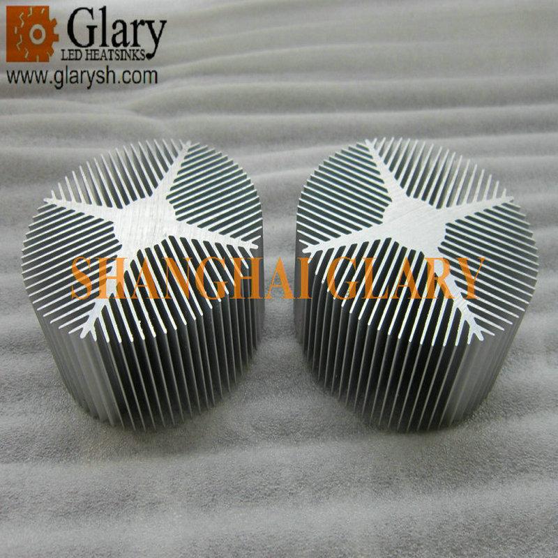 GLR-HS-131 90mm round heatsink 21