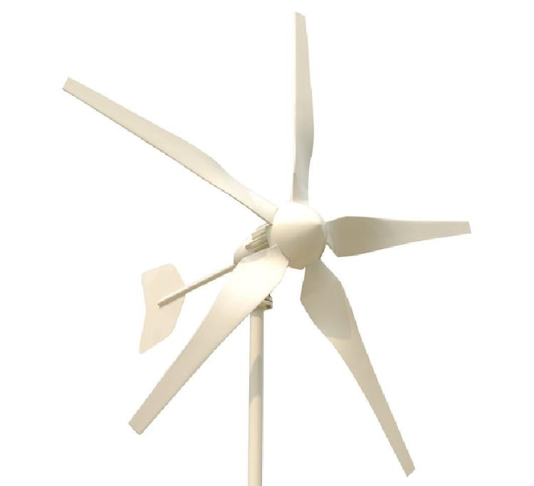 1kw Wind Turbine Five Blades Low Wind Speed Start up