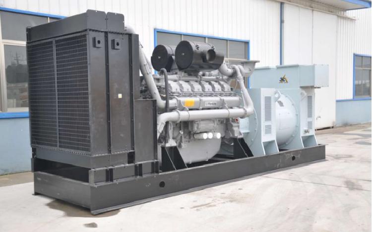 Diesel Genset with Perkins Engines