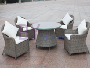 Modern Rattan Synthetic All Weather Wicker Outdoor Furniture