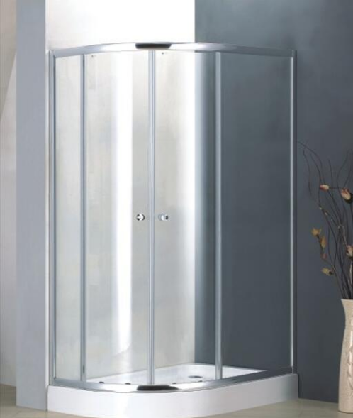 Bathroom 4mm Tempered Glass Offset Quadrant Enclosure Shower Door (BL5482)
