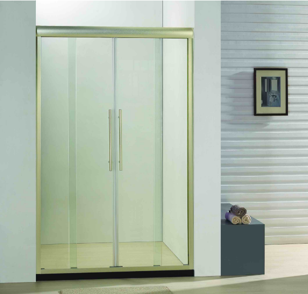 Bathroom 8mm Glass Double Sliding Door Shower Enclosure (BC940I)