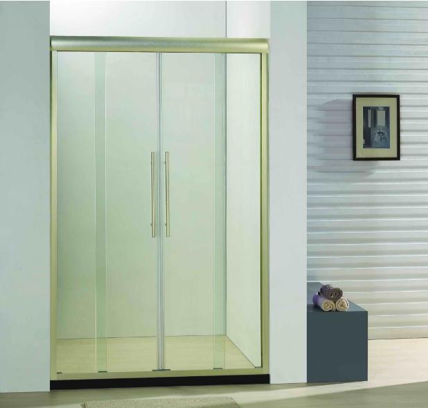 Bathroom 8mm Glass Double Sliding Door Shower Enclosure (BC940I)