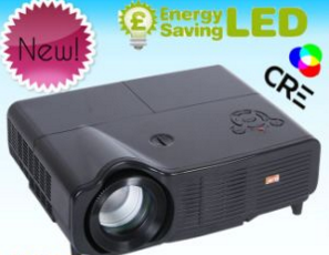 1.8-6.9m High Brightness LED Projector Mini PC  (X500)
