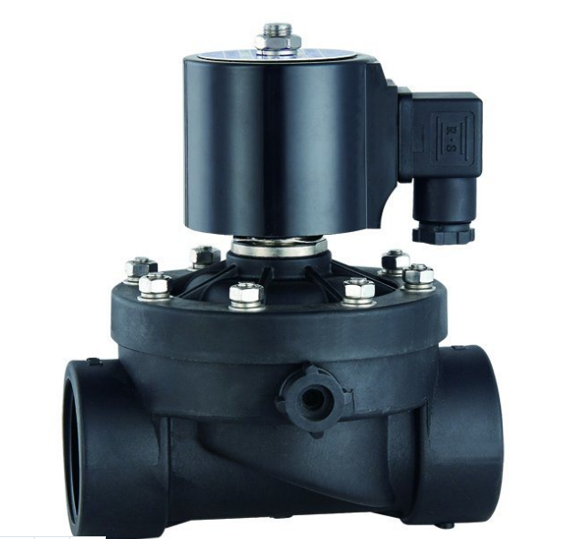 Two-Way Zero Differential Pressure (Normally Closed Type) Plastic Solenoid Valve