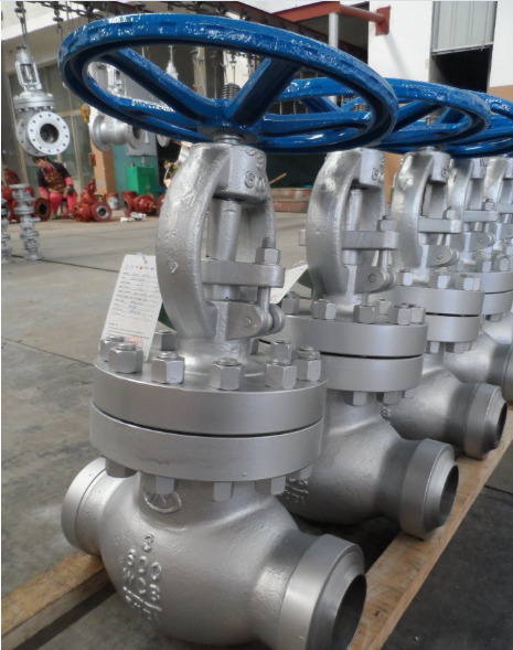 Carbon Steel Flanged Rising Stem Globe Valve (J41H-900LB-10)