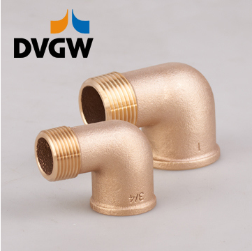 Lead Free Bronze Pipe Fitting & Bronze Elbow Dvgw Certifited