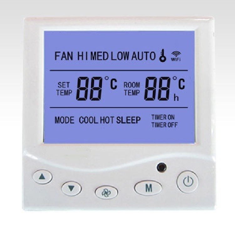 New WiFi Digital Thermostat Central AC Touch Screen WiFi Thermostat