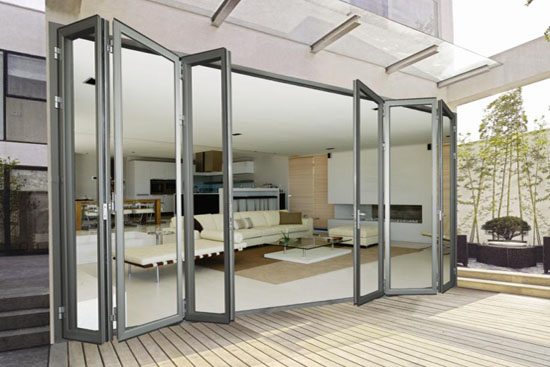 aluminium alloy frame sliding door with factory price/thermal break profile sound proof sliding door