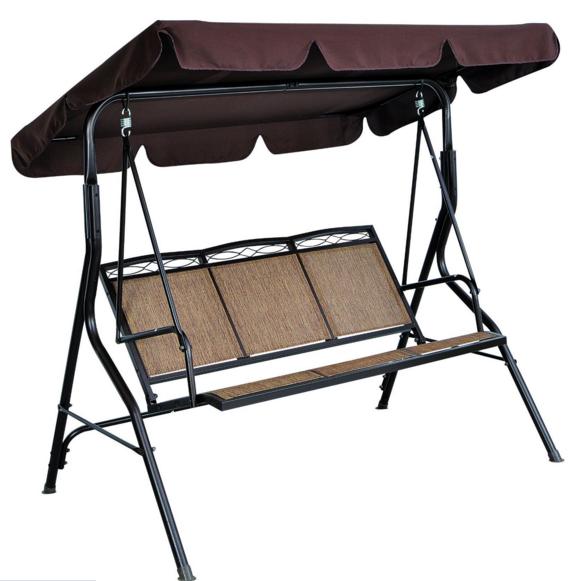 Person/Seater Textilene Garden Swing Chair