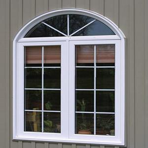 Double glazing upvc sliding window for construction