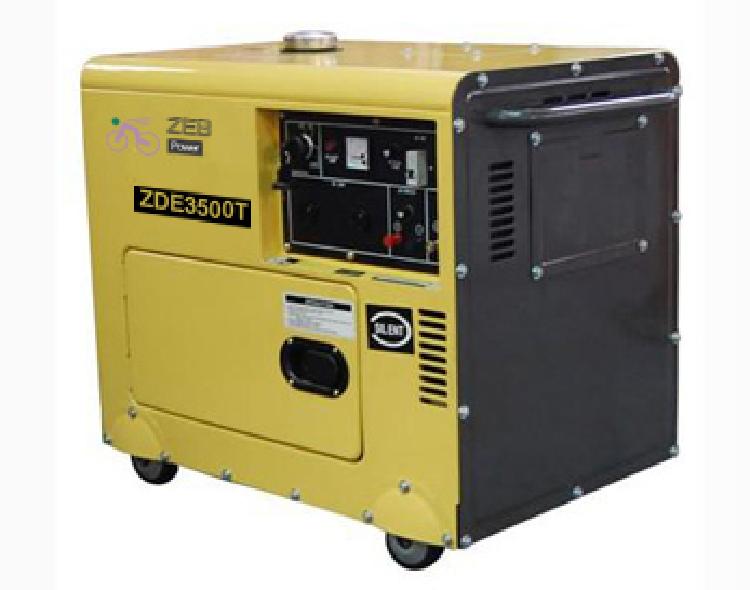 3kVA Silent Type Portable Diesel Generators (ZDE3500T)